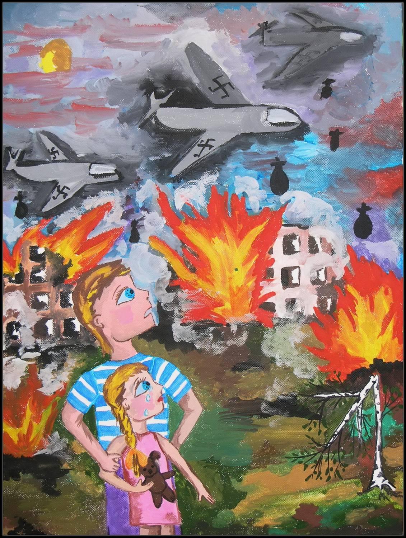 Украина мая рисунки